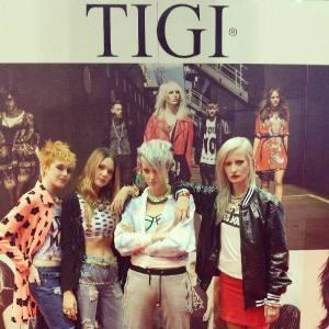 tigi takeover hair fashion