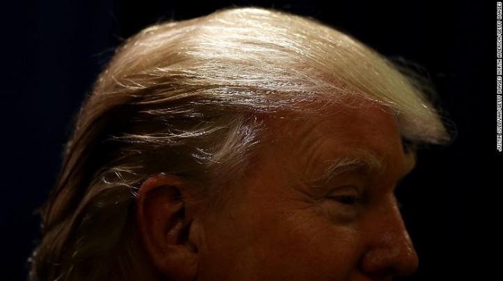 men's hair trump