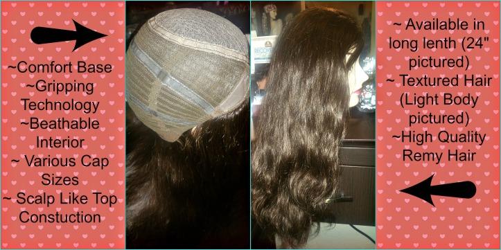 Alopecia wig options
